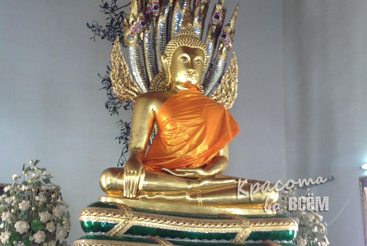 Удивительный Таиланд. Статуя Будды.