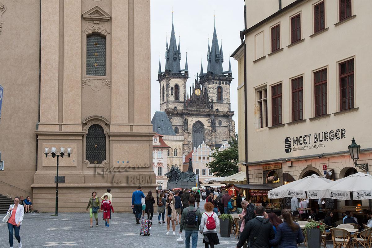 Прага. Выход к Старопраменской площади.